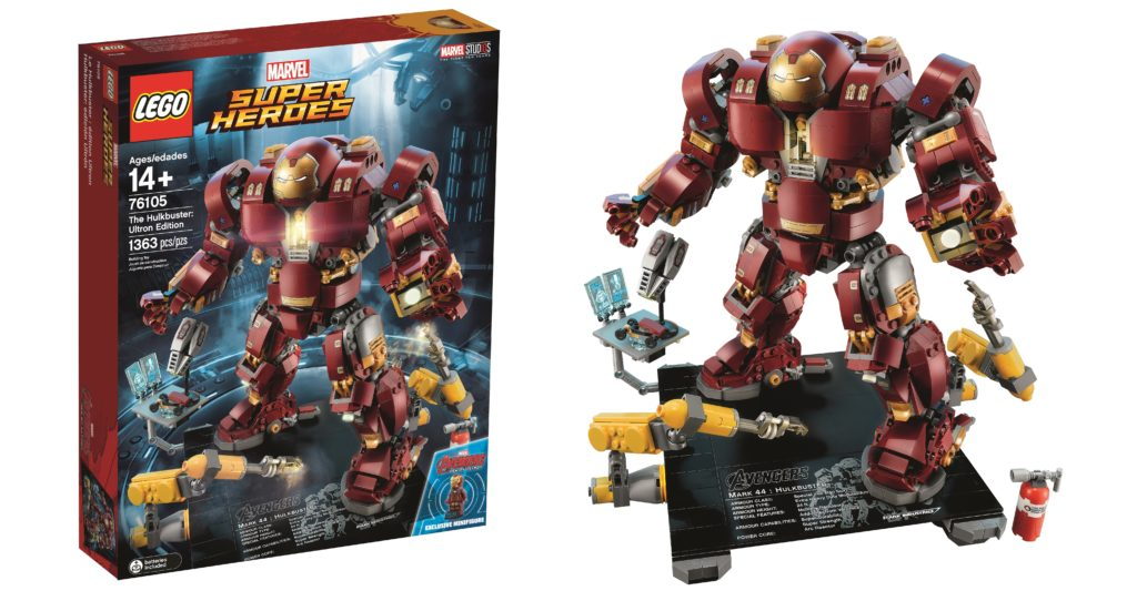 Suit Up With Lego 76105 The Hulkbuster Ultron Edition
