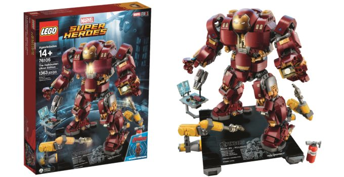 Suit up with LEGO 76105 The Hulkbuster: Ultron Edition!