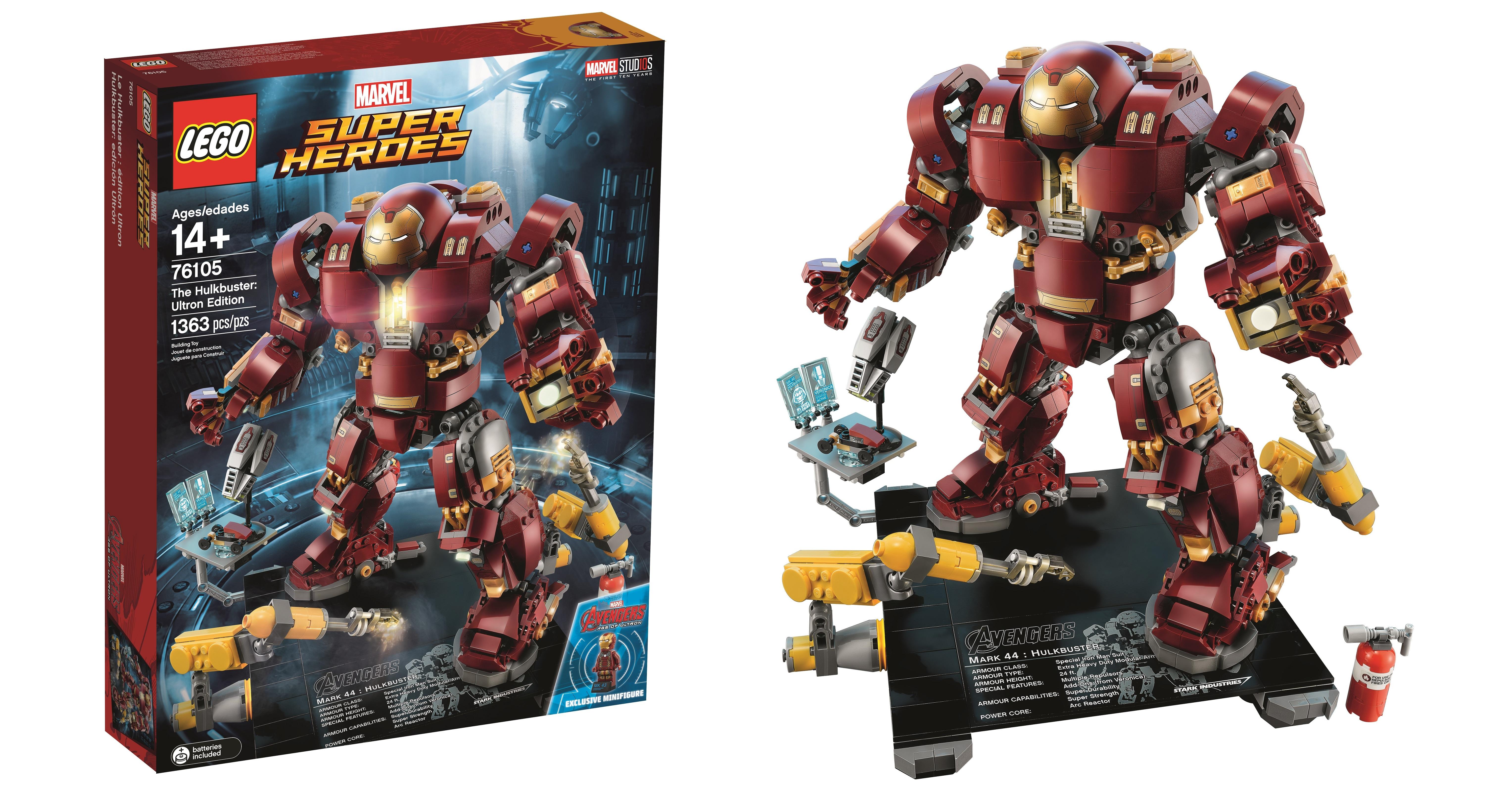 lego hulkbuster ultron edition pieces