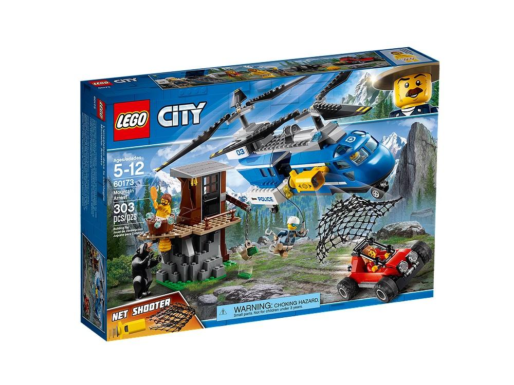 Review Lego 60173 Mountain Arrest