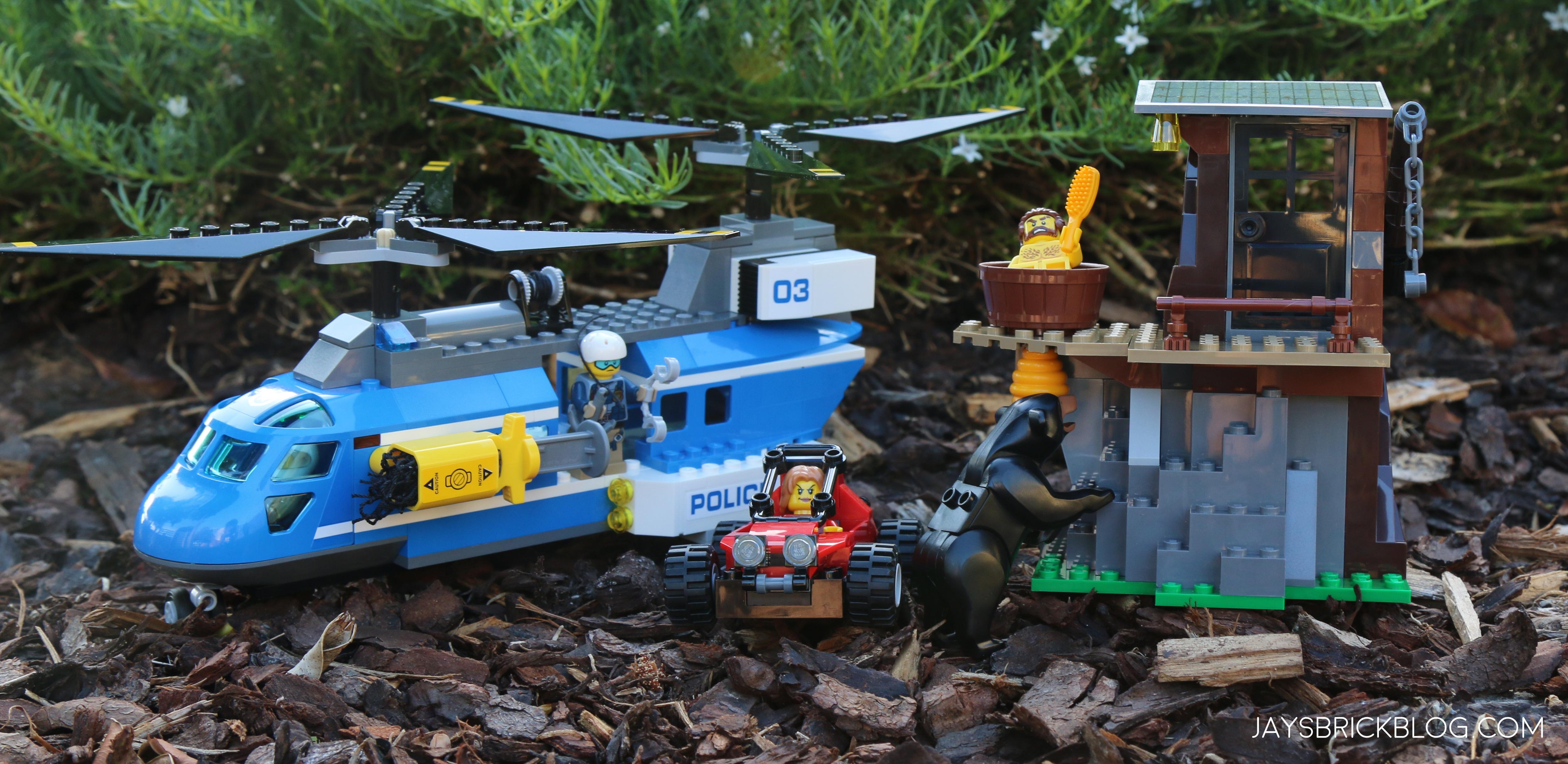 Review: LEGO 60173 Mountain Arrest - Jays Brick Blog