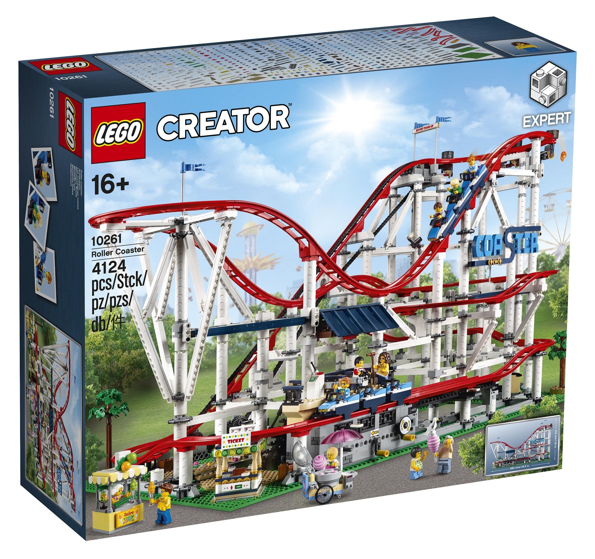lego announces 10261 creator expert roller coaster. Black Bedroom Furniture Sets. Home Design Ideas