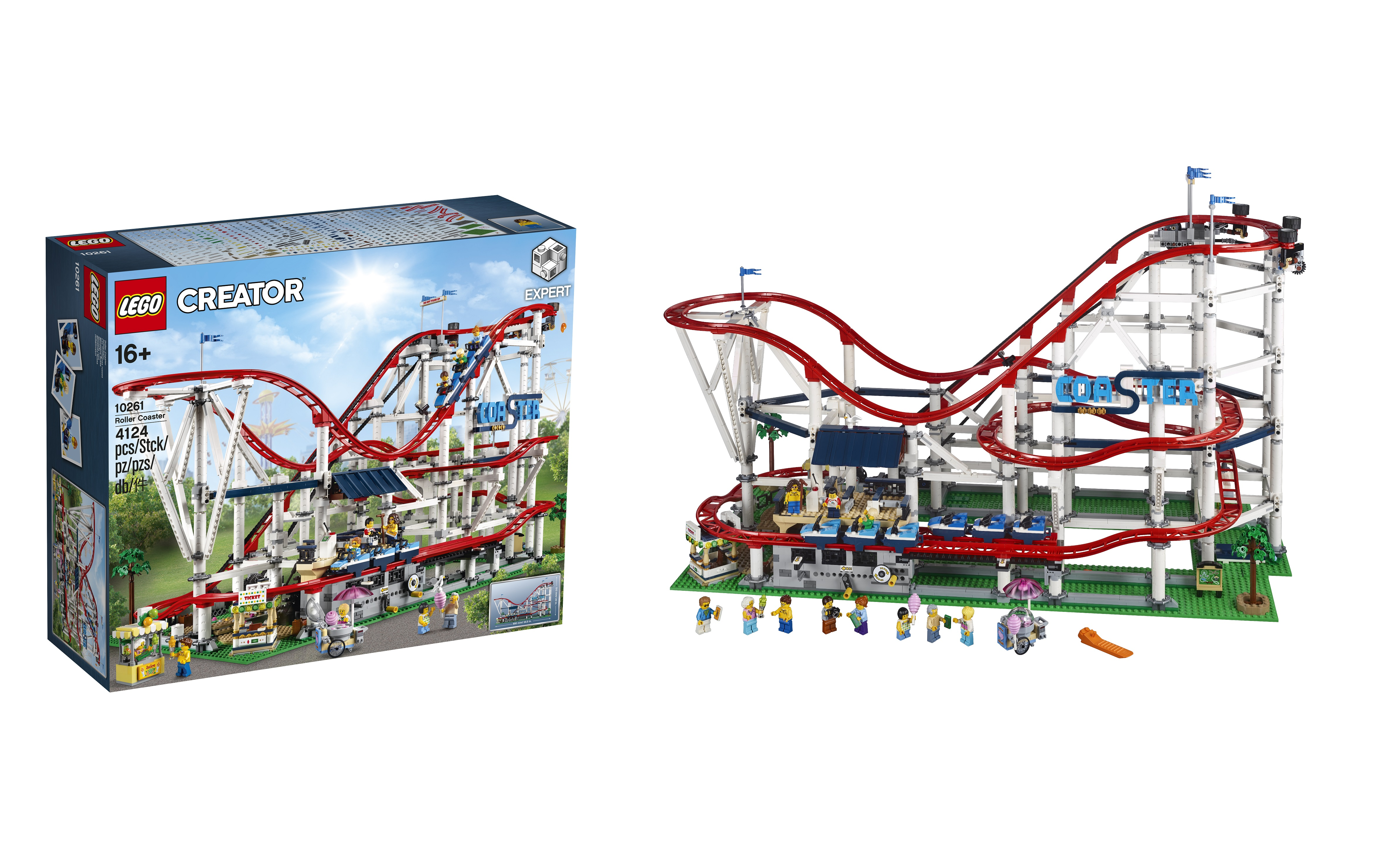 lego announces 10261 creator expert roller coaster jay. Black Bedroom Furniture Sets. Home Design Ideas