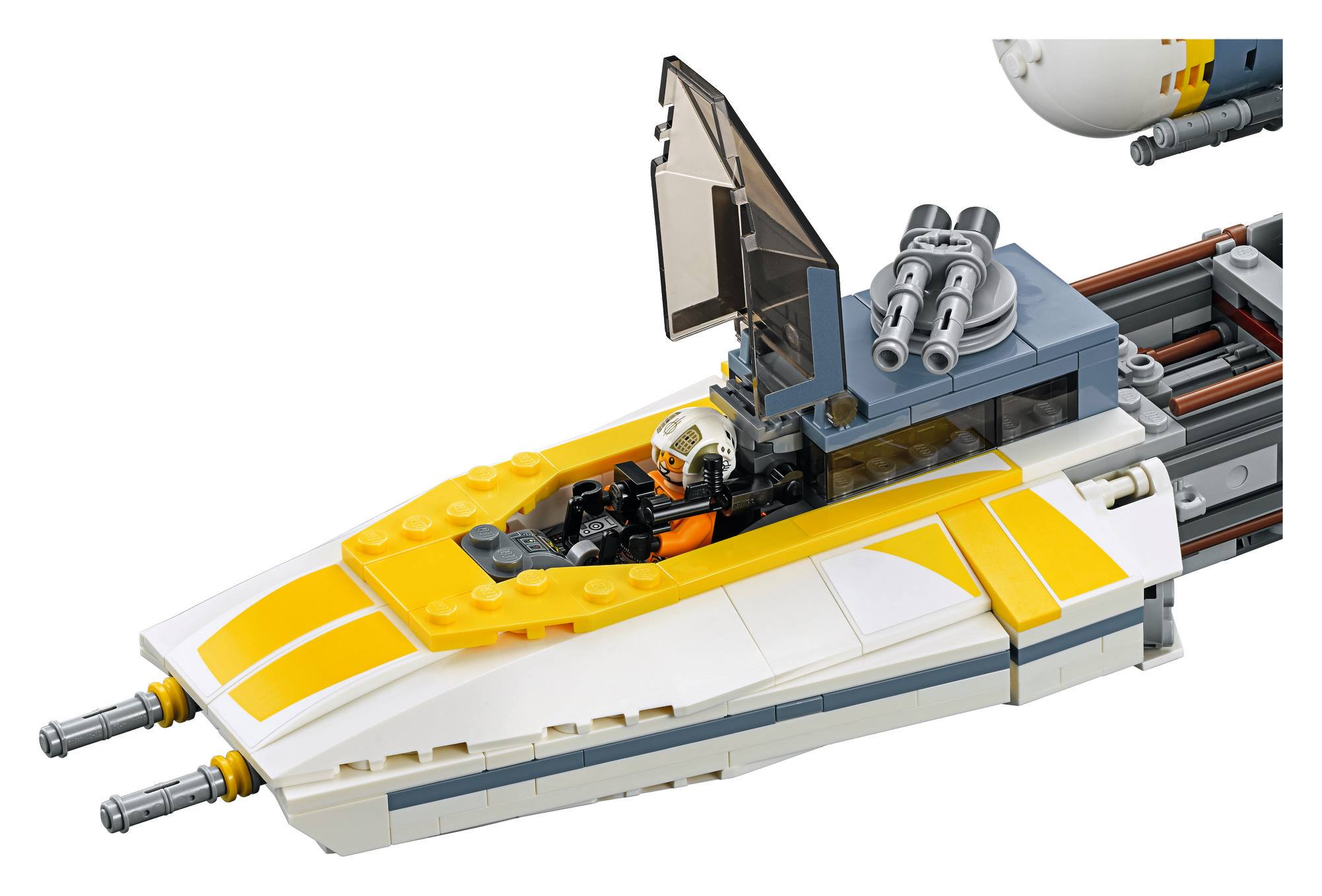LEGO officially unveils the 75181 UCS Y-Wing Starfighter ...