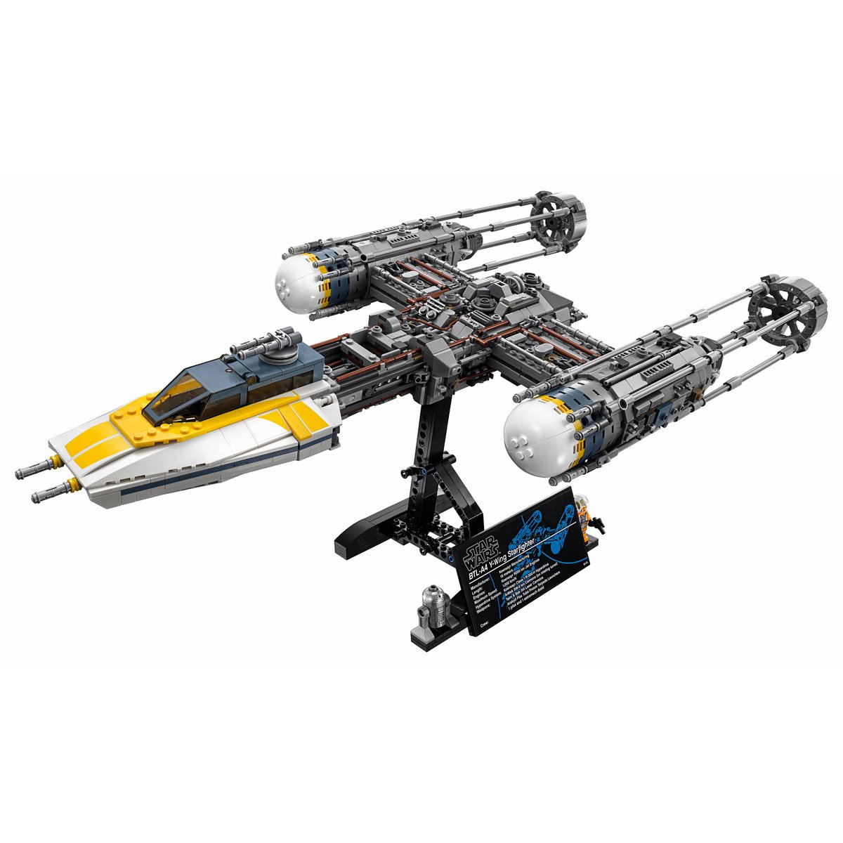 May The 4th Be With You Lego 2018: LEGO Officially Unveils The 75181 UCS Y-Wing Starfighter