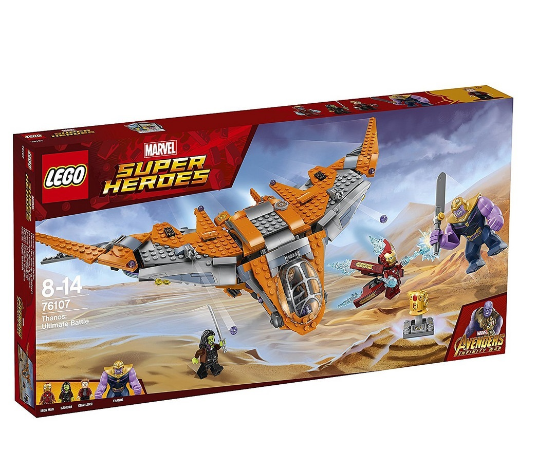 Review: LEGO 76107 Thanos: Ultimate Battle – Jay's Brick Blog