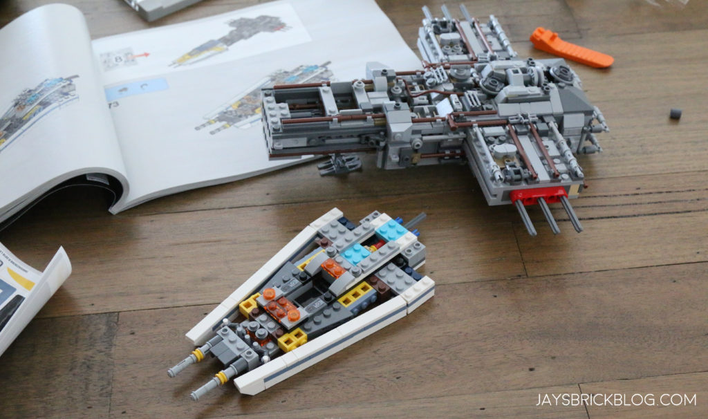 Review: LEGO 75181 UCS Y-Wing Starfighter (2018)