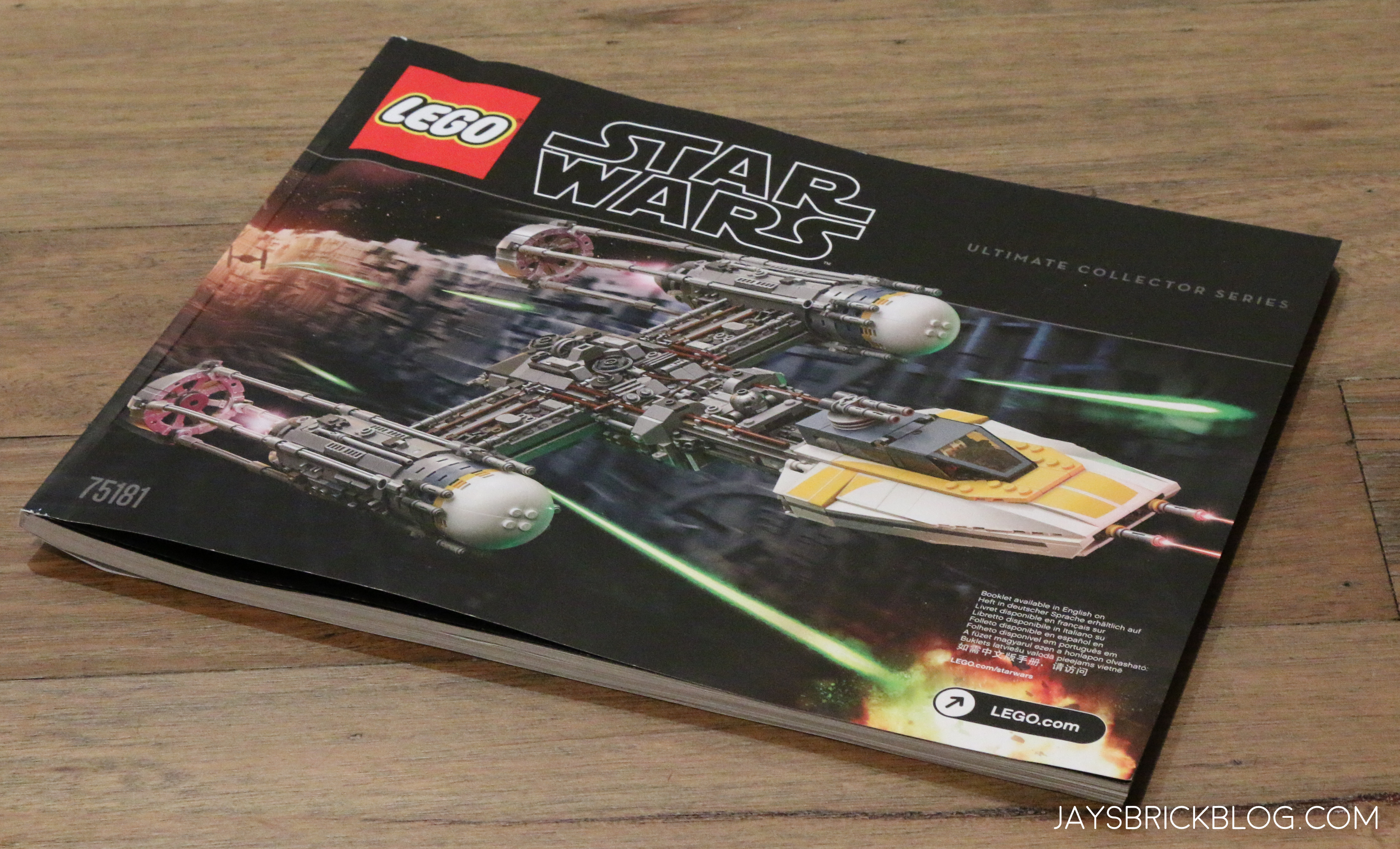 Review Lego 75181 Ucs Y Wing Starfighter 2018
