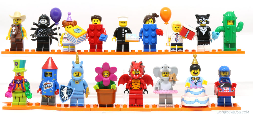 LEGO SERIES  ~ 18 ~ PARTY ~  MINIFIGURES .. CHOOSE YOUR FIGURE