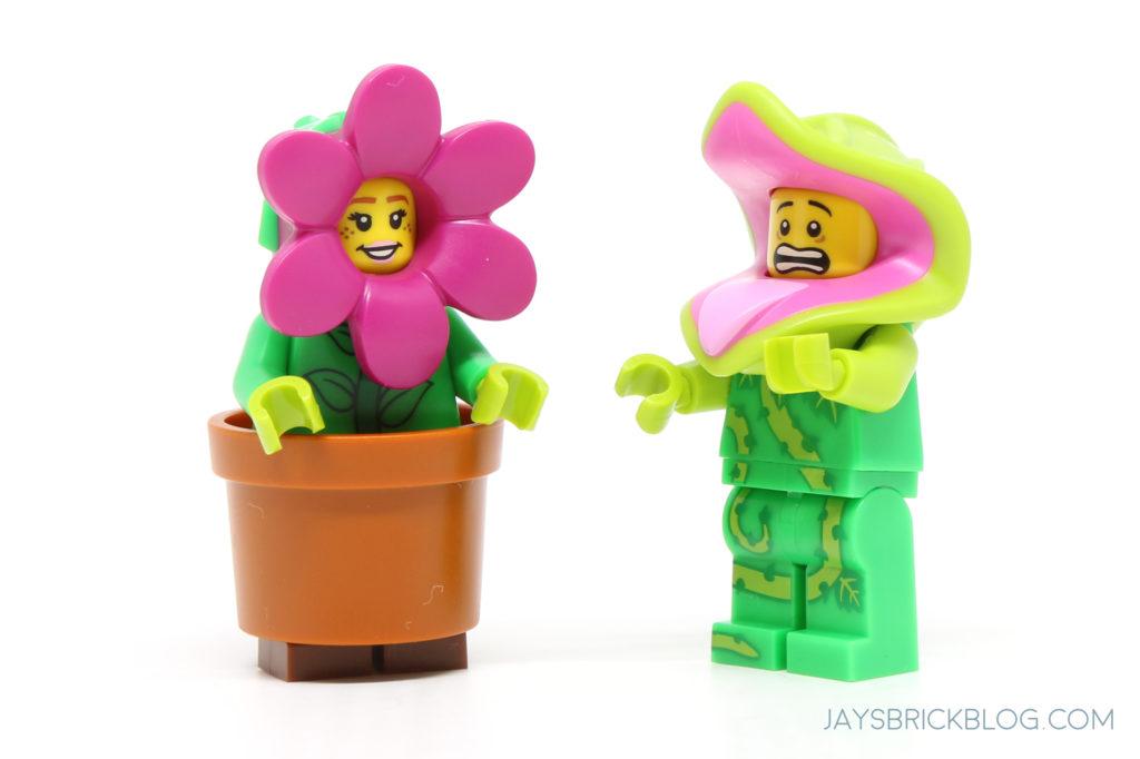 LEGO New Dark Orange Minifigure Flower Pot Costume Piece