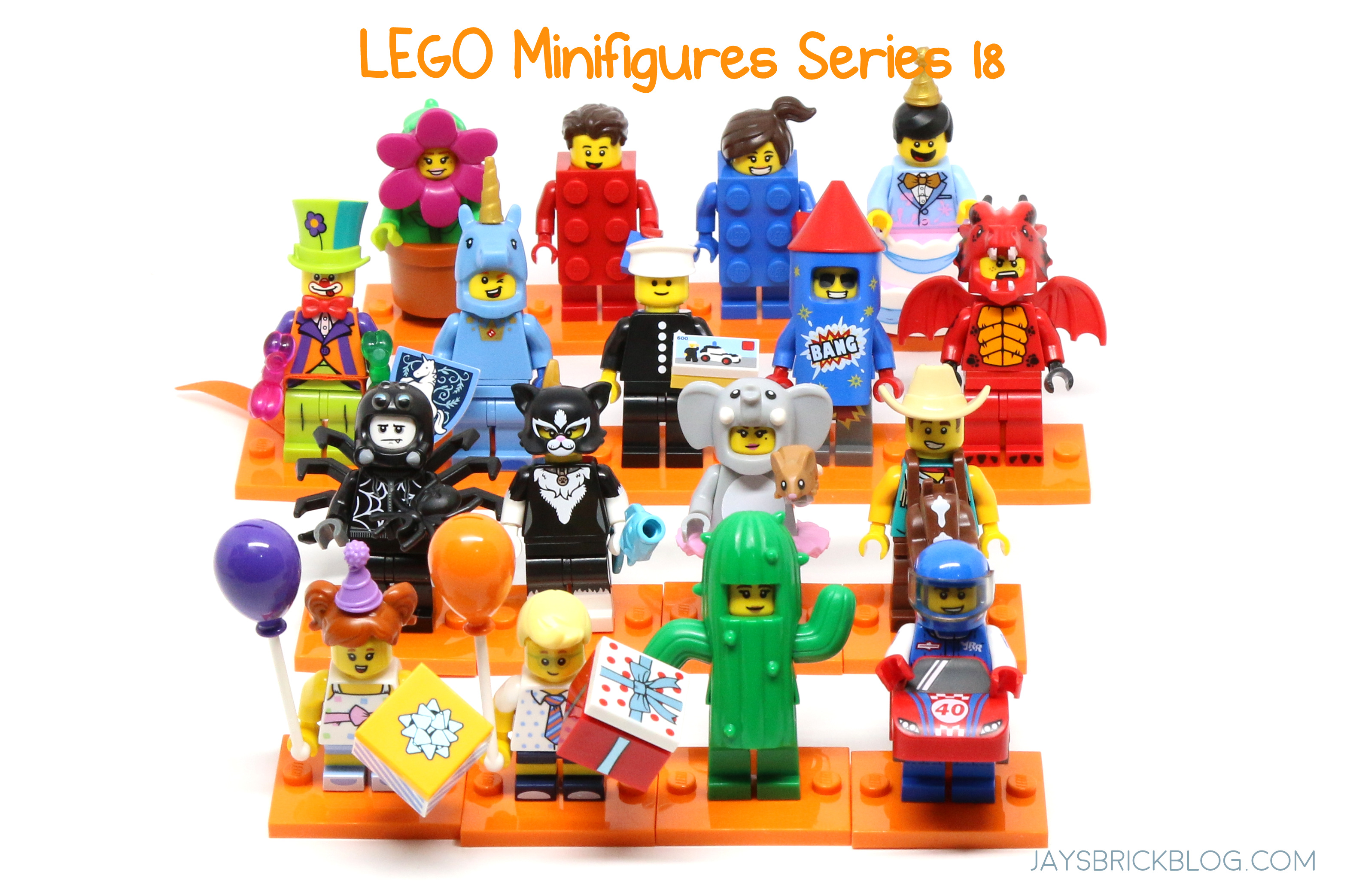 Review: LEGO Minifigures Series 18 – Jay's Brick Blog