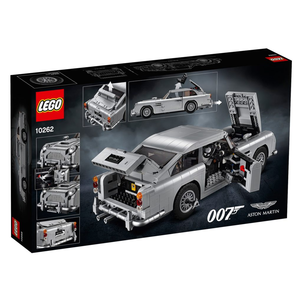 thoughts on the new lego 10262 james bond aston martin db5. Black Bedroom Furniture Sets. Home Design Ideas