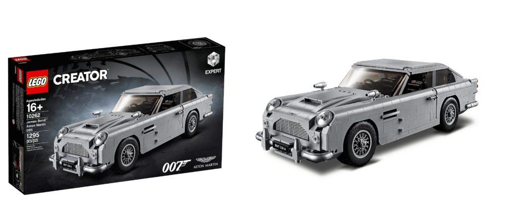 LEGO 10262 James Bond Aston Martin Box and Set