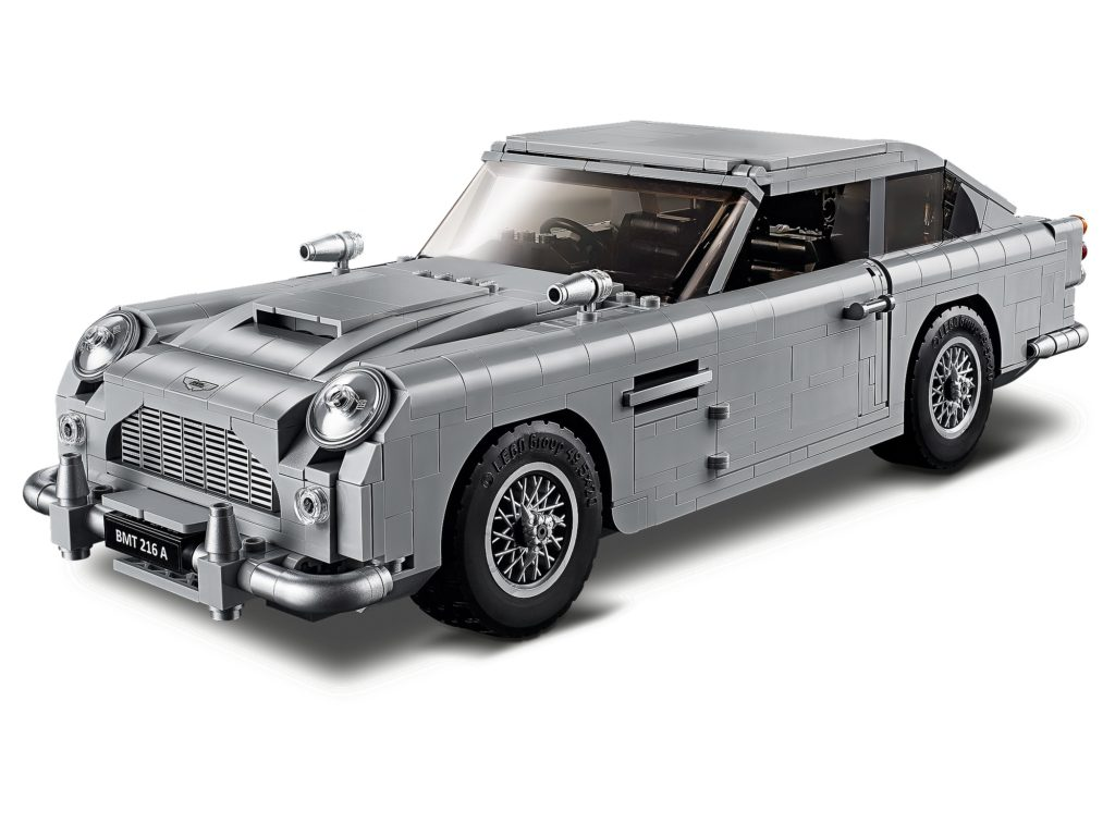 Thoughts On The New Lego 10262 James Bond Aston Martin Db5