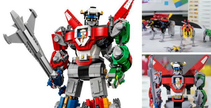 LEGO Ideas 21311 Voltron now on sale for LEGO VIP members