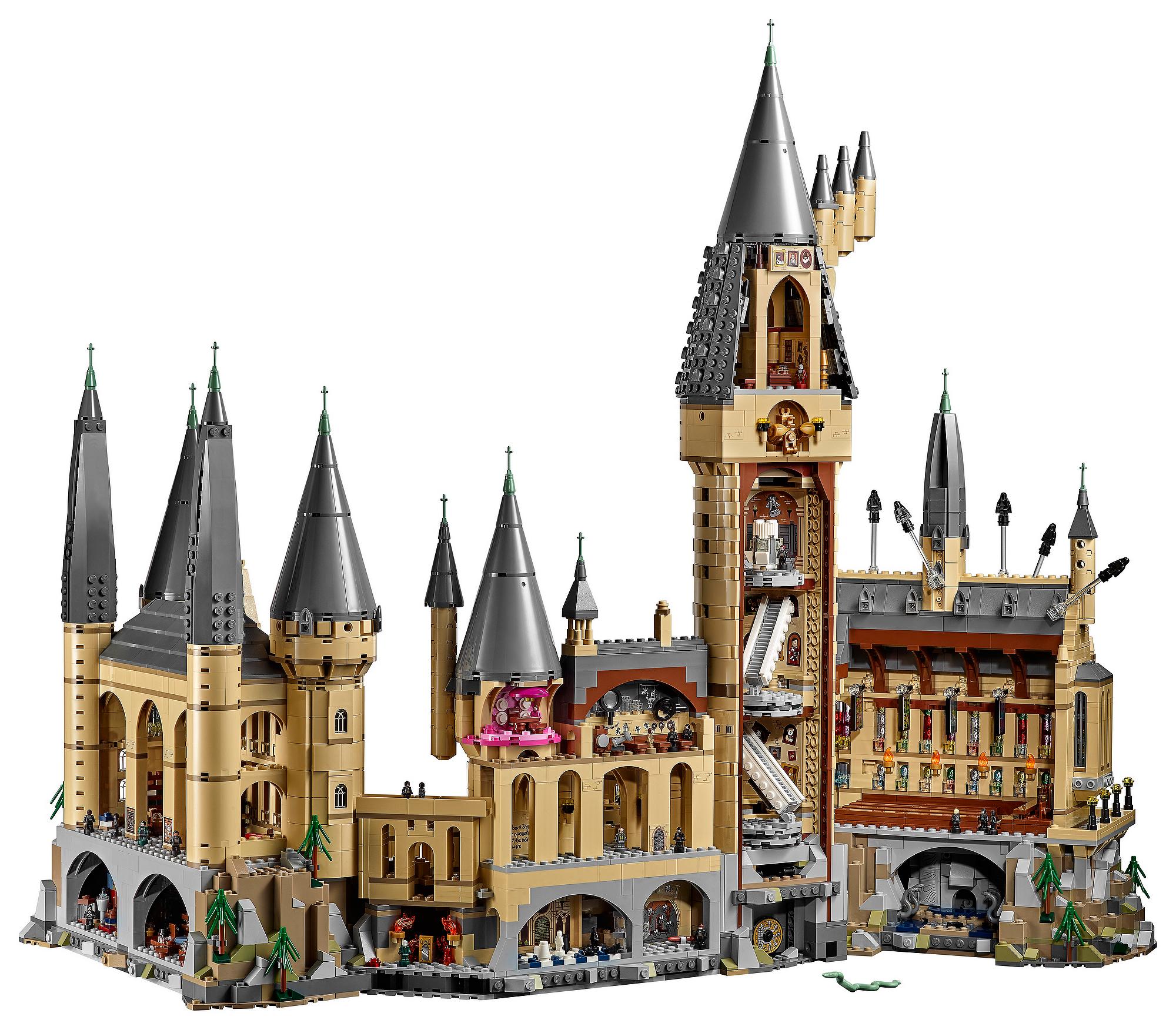 Spellbound by the massive LEGO 71043 Hogwarts Castle set ...