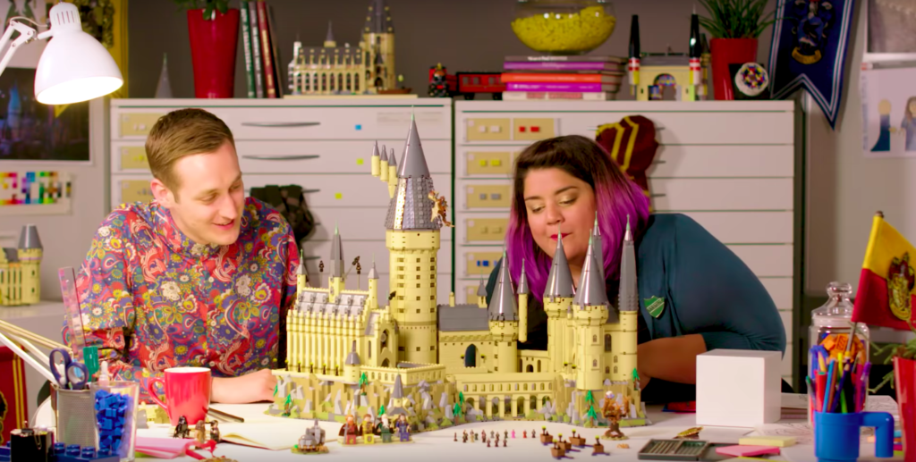 The magical LEGO 71043 Hogwarts Castle set now available for VIPs