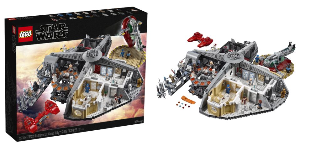 LEGO unveils 75222 Betrayal at Cloud City playset