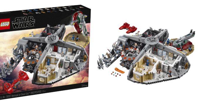 LEGO unveils 75222 Betrayal at Cloud City playset