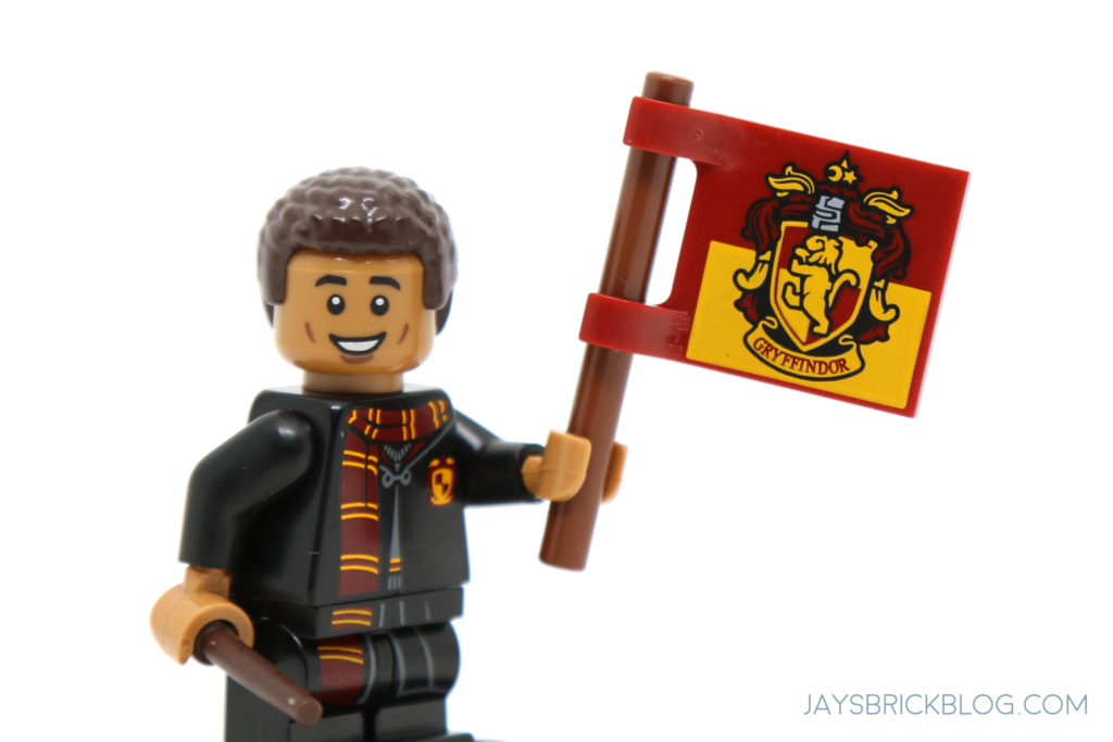 New LEGO Pair of Dark Pink Wavy Girl House Flags