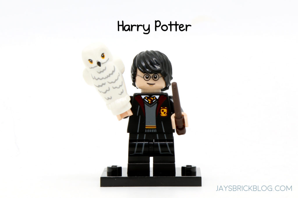 Broomstick Wand /& Newspaper NEW LEGO Harry Potter Minifigure with Hedwig Owl