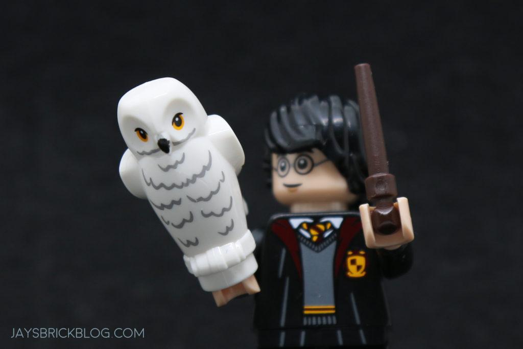 Lego Harry Potter Owl Reddish Brown