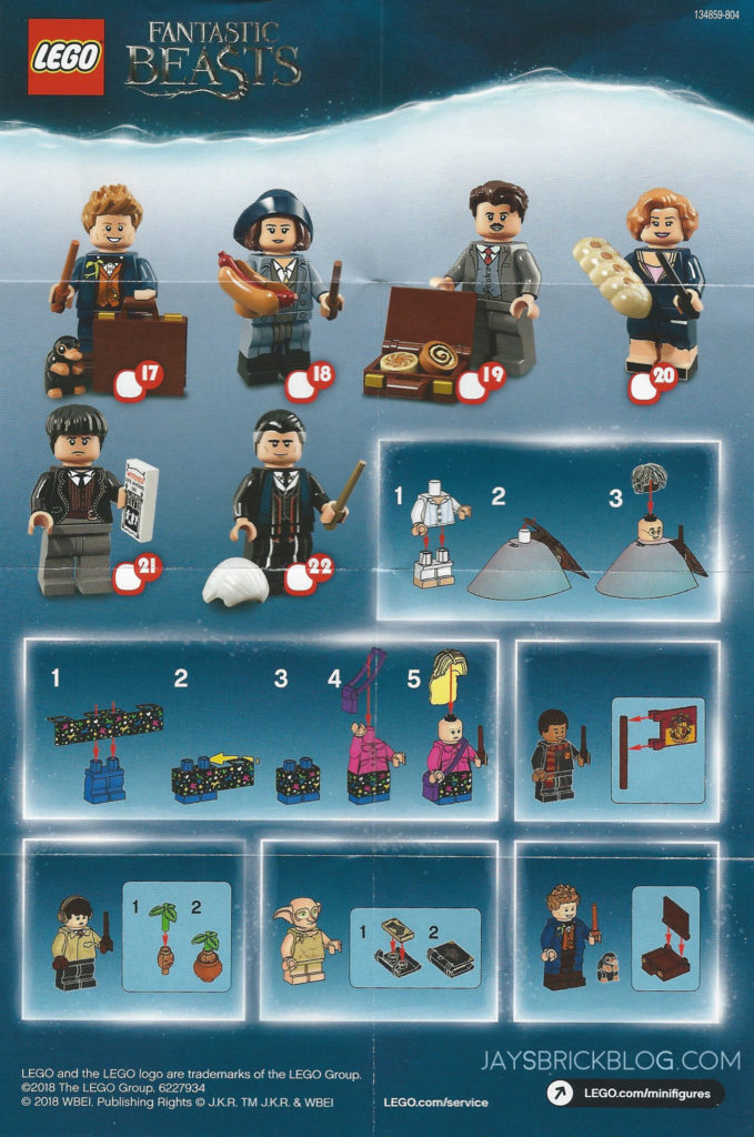 Review Lego Harry Potter And Fantastic Beasts Minifigures