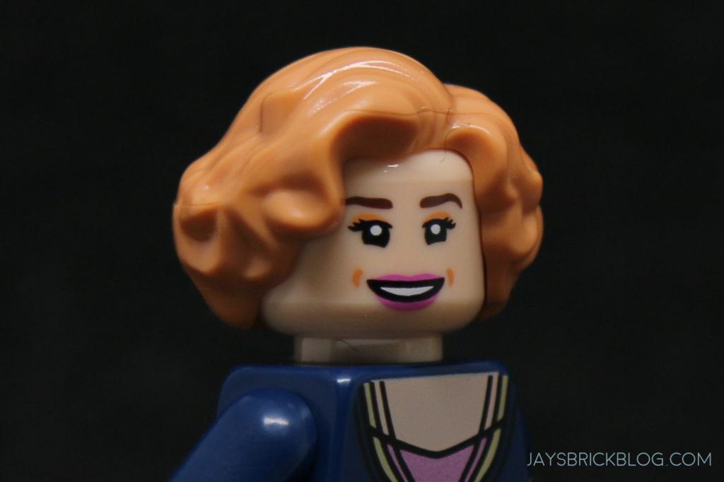 LEGO Minifig Spectrespecs // No Spectrespecs - Head Pink Lips Luna Lovegood