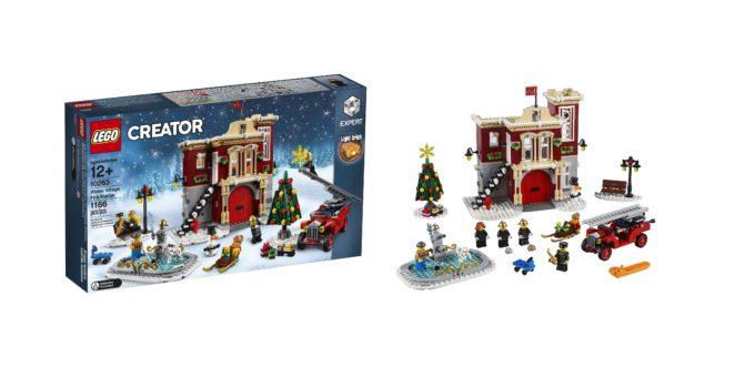 10263 Winter Village Fire Station is your 2018 seasonal Christmas LEGO set!