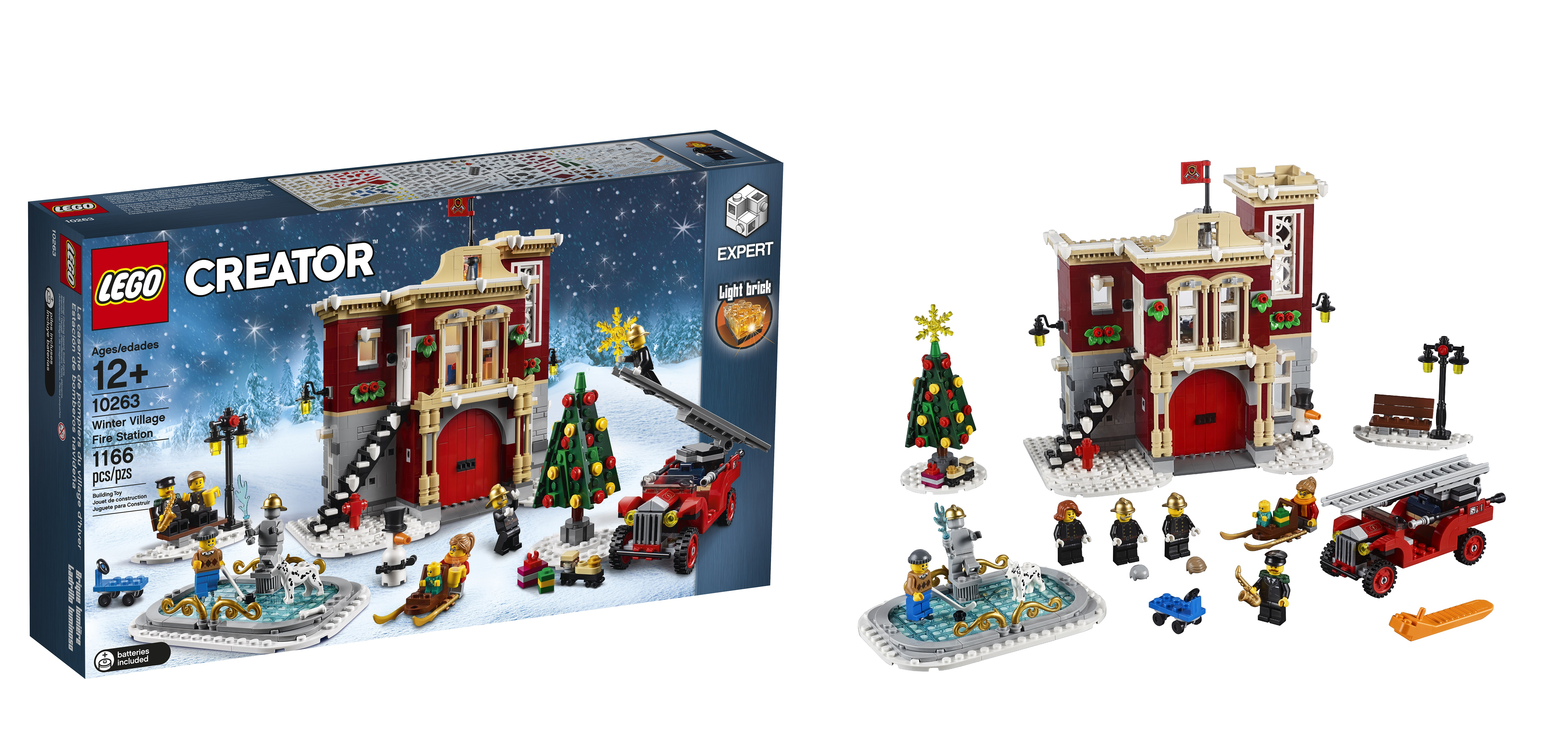 10263 winter village fire station is your 2018 seasonal christmas