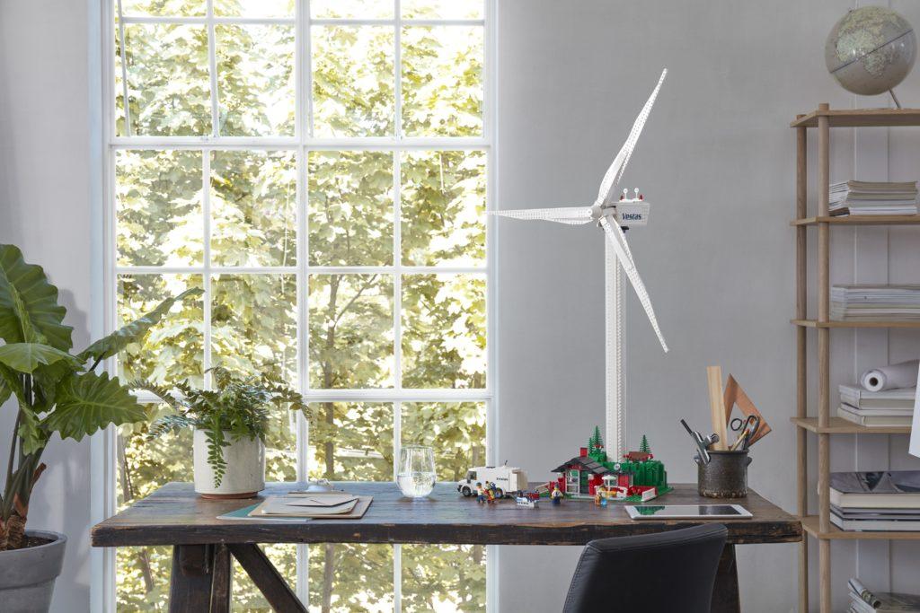 LEGO 10268 Vestas Wind Turbine Display