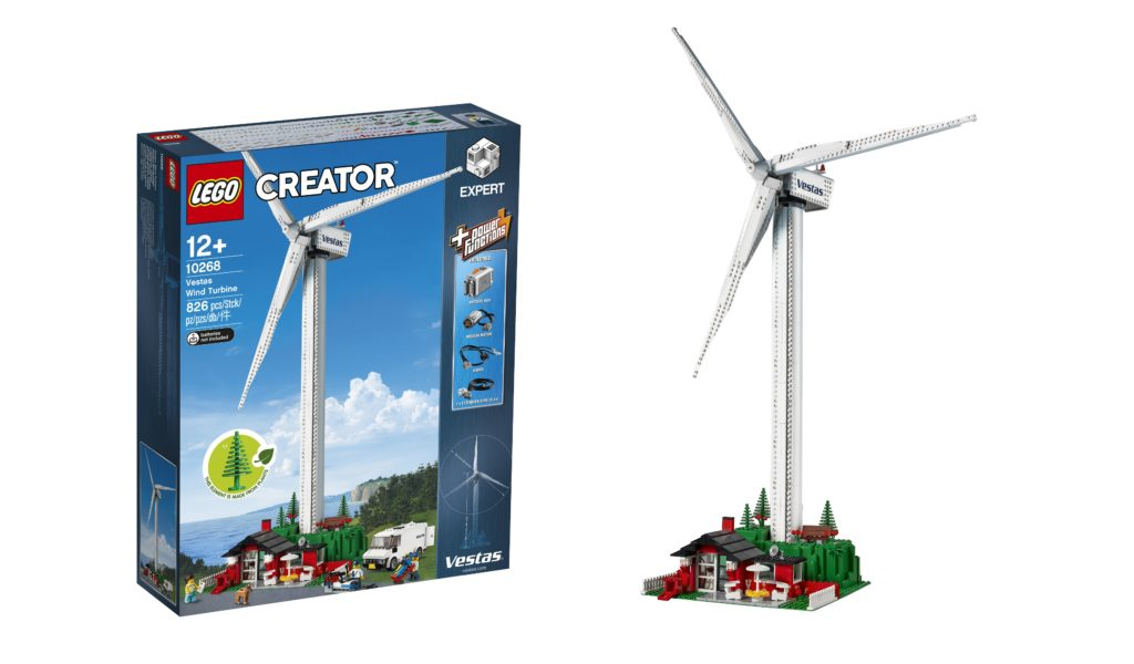 LEGO dials up its sustainability initiatives with the re-release of 10268 Vestas Wind Turbine