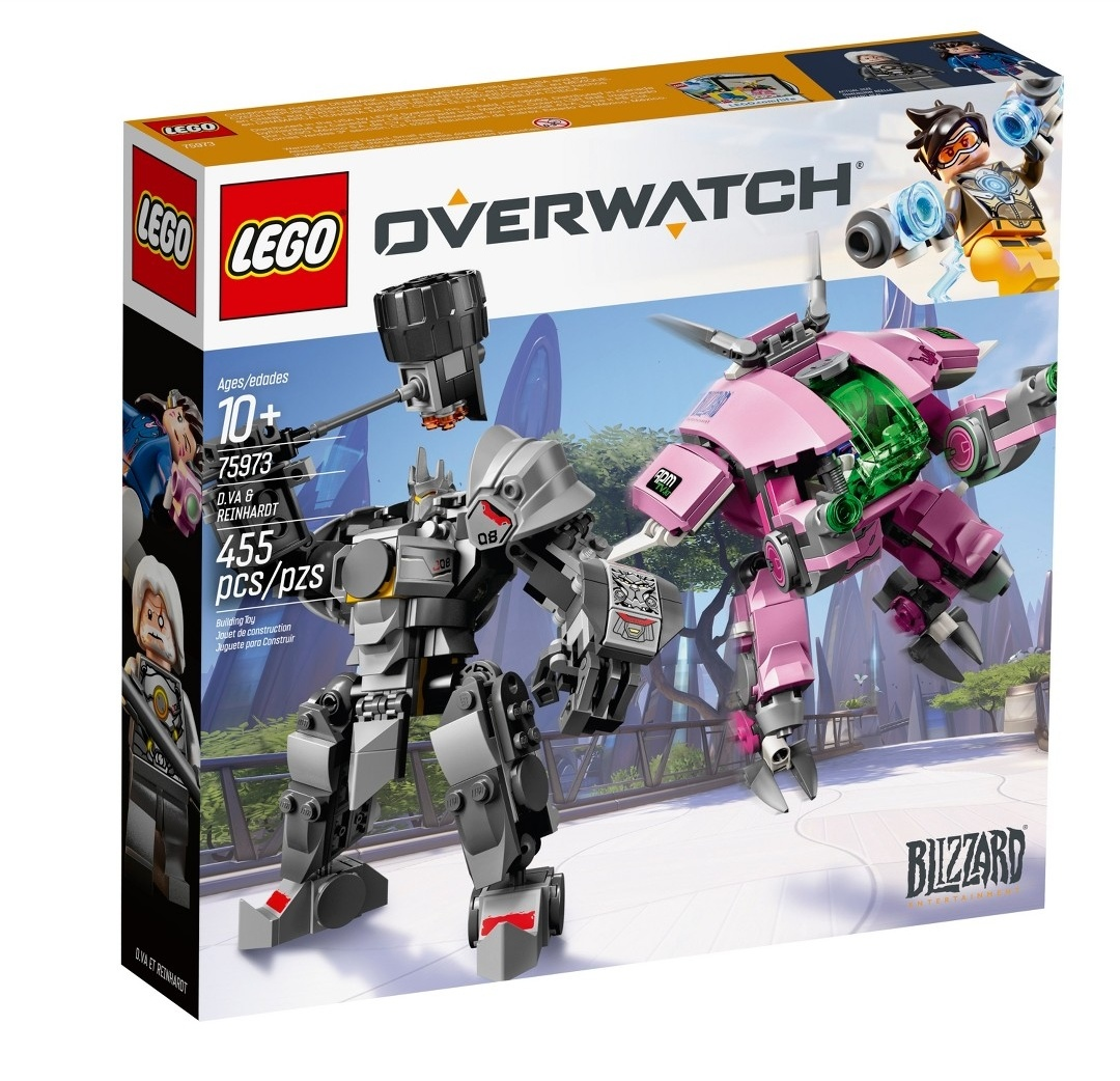 First impressions of the new LEGO Overwatch sets – Jay's Brick Blog