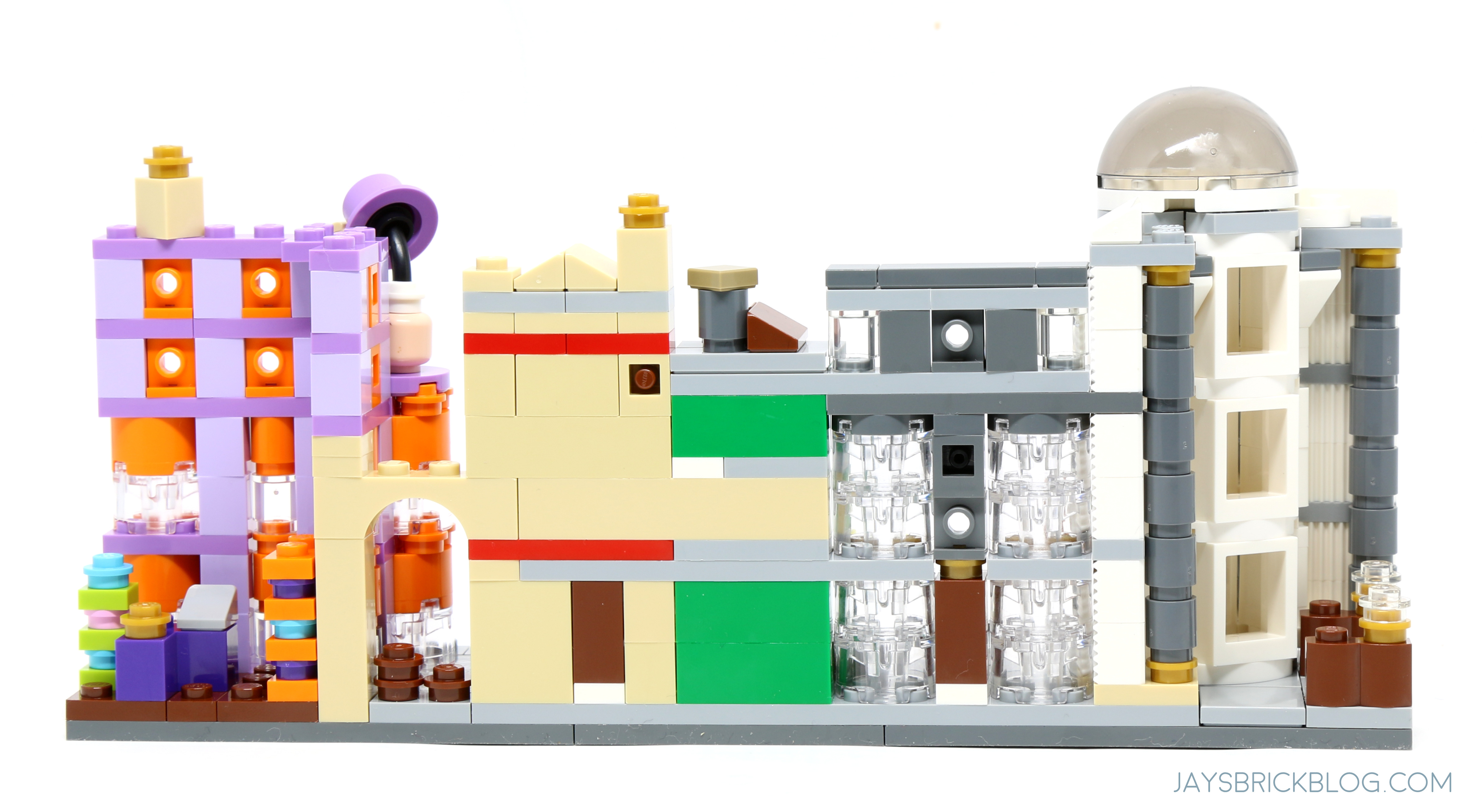 Review Lego 40289 Diagon Alley 2018 Gift With Purchase Set