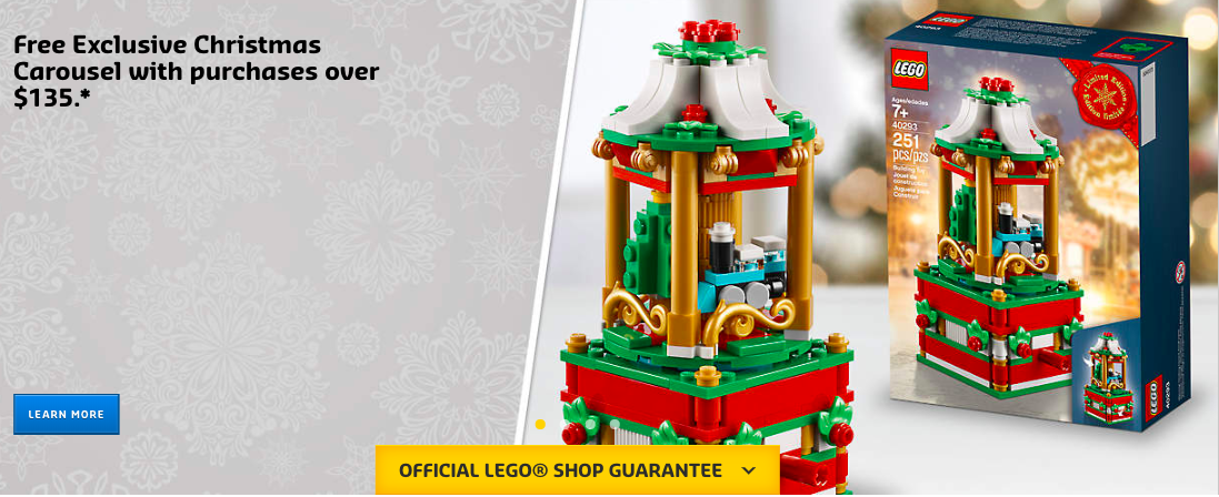 Lego Christmas Set 2019.Lego 40293 Christmas Carousel Promo Set Is Now Available