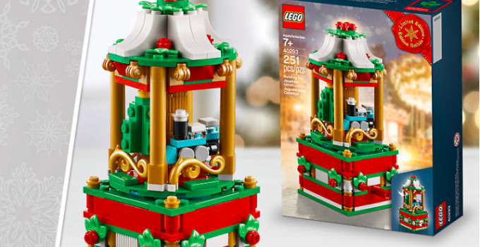 LEGO 40293 Christmas Carousel promo set is now available!