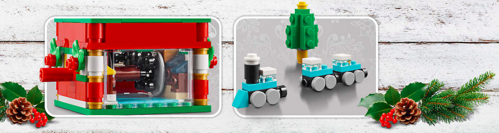 LEGO 40293 Christmas Carousel promo set is now available! – Jay's