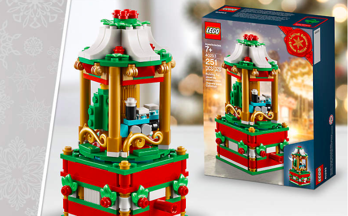 LEGO 40293 Christmas Carousel promo set is now available