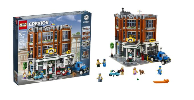 Presenting 10264 Corner Garage, the 2019 LEGO Modular Building!