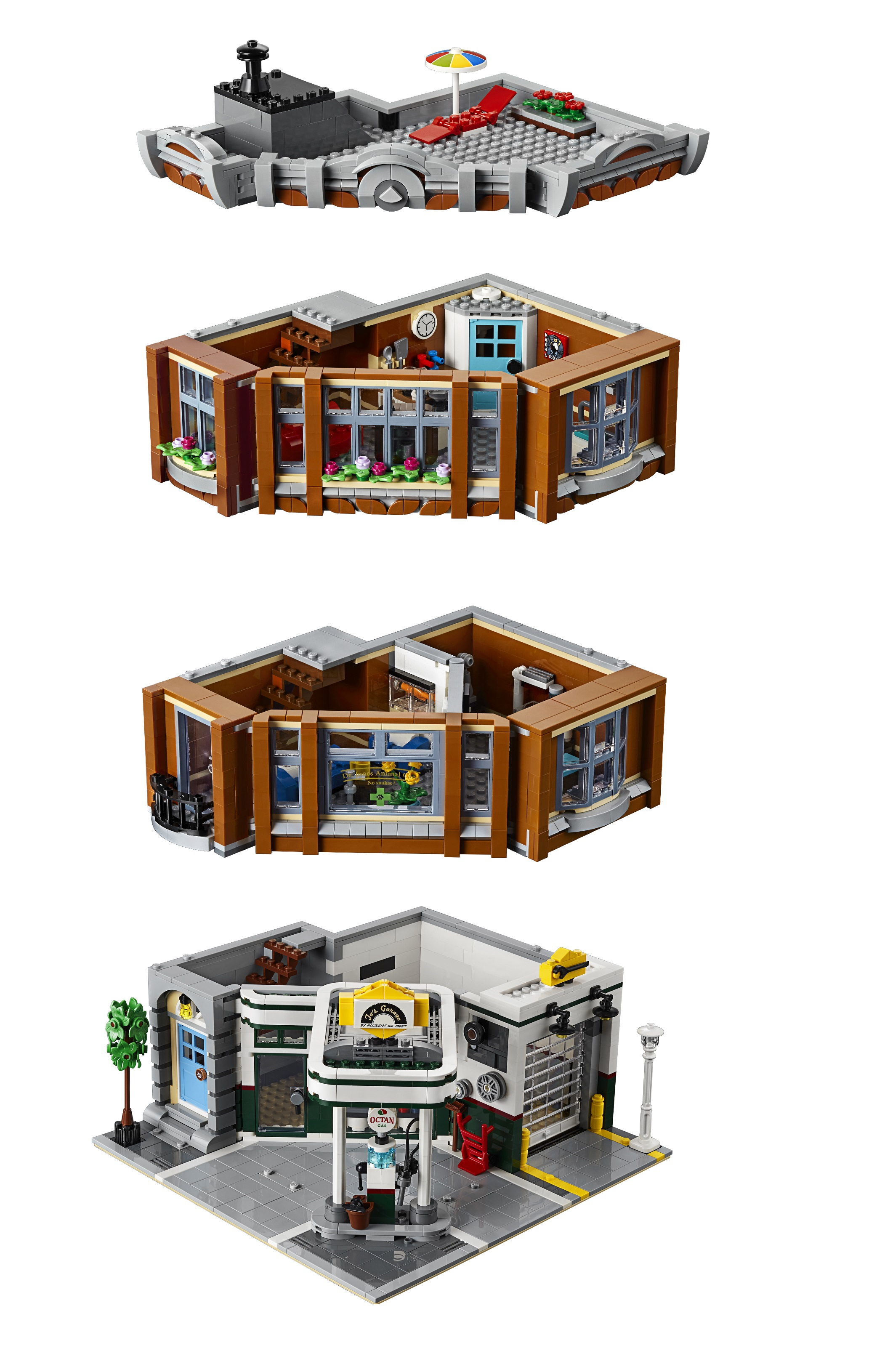 Presenting 10264 Corner Garage The 2019 Lego Modular Building