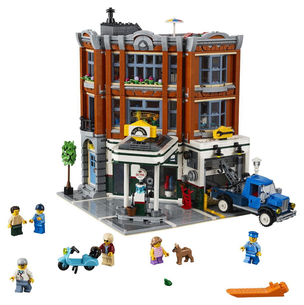 Minneapolis Garage Builders News Construction Blog: Presenting 10264 Corner Garage, The 2019 LEGO Modular