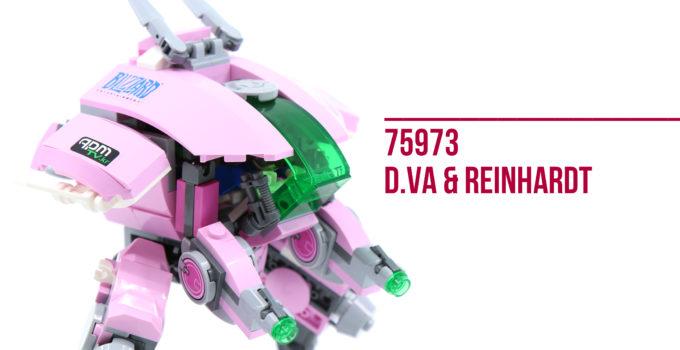 Review: LEGO 75973 D.va and Reinhardt
