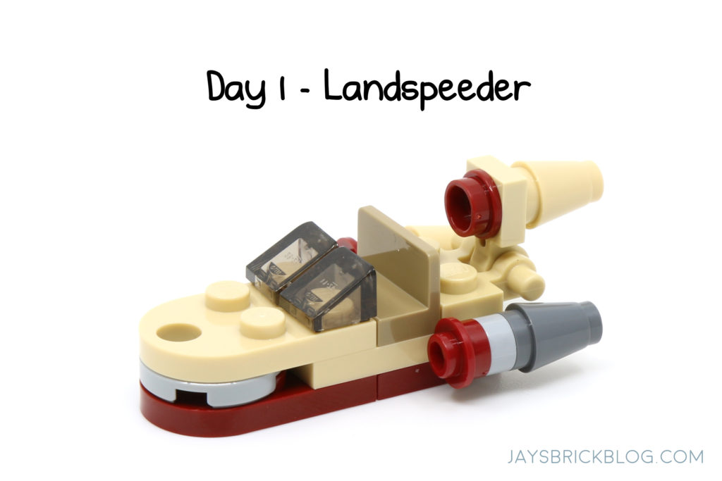 December 2019 Calendar Lego LEGO Star Wars Advent Calendar 2018 – Daily Countdown – Jay's