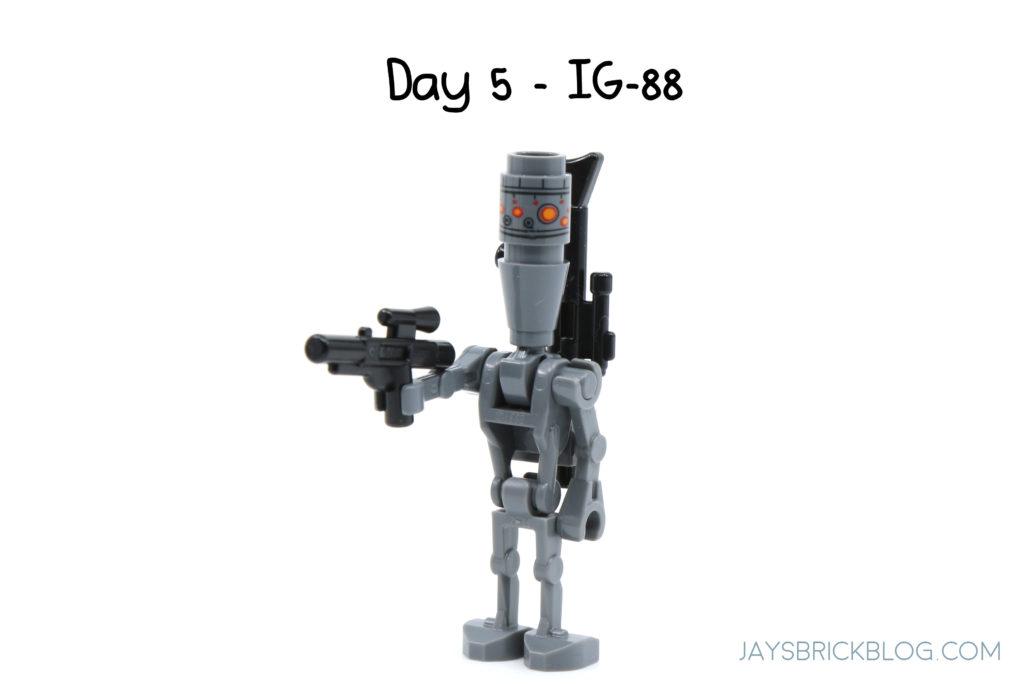 IG-88 Assassin Droid Bounty Hunter 75213 Star Wars LEGO Minifigure 2018