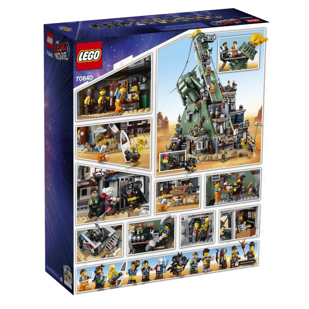 Introducing Lego 70840 Welcome To Apocalypseburg The Largest Lego Movie 2 Set For Now Jay S Brick Blog