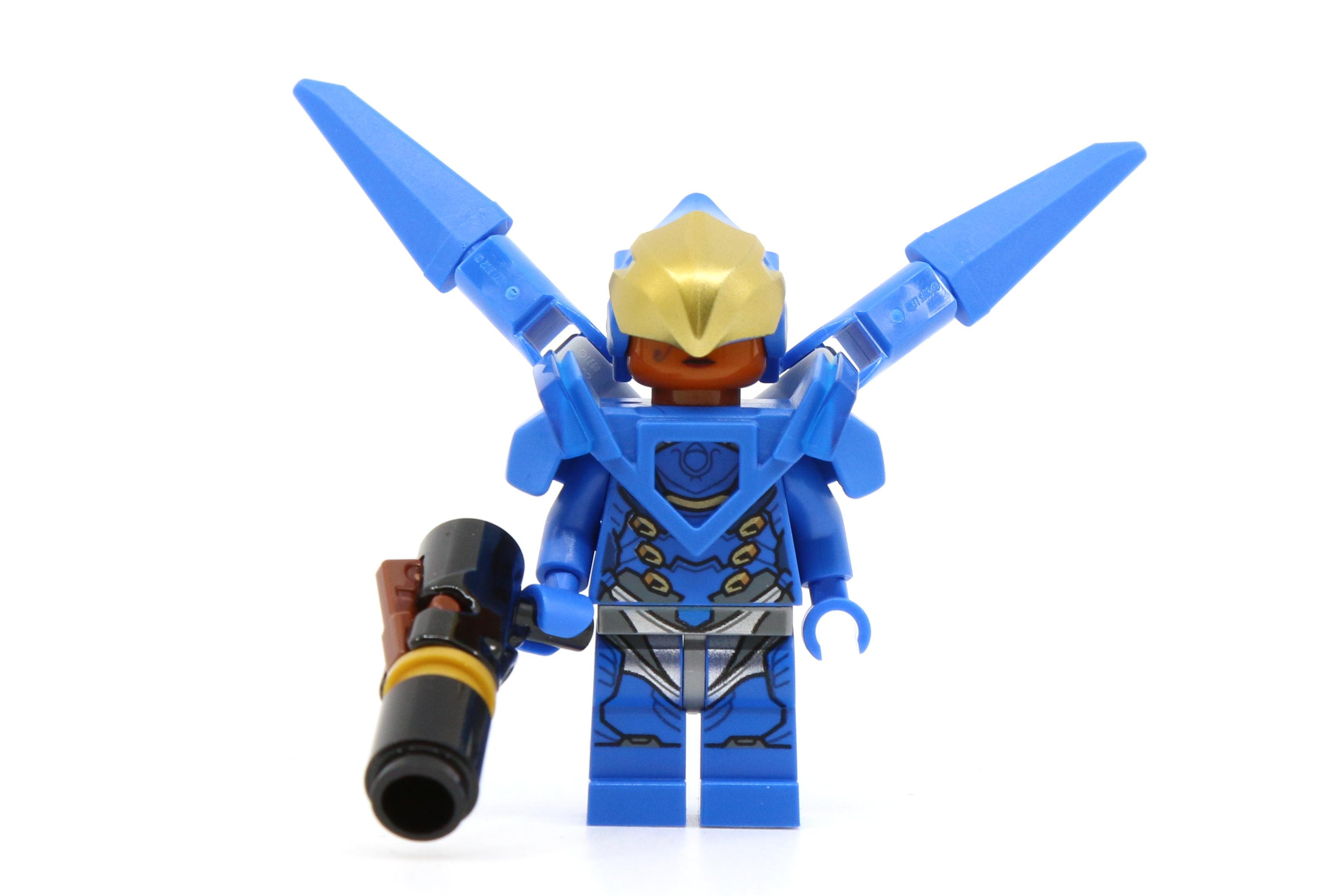 Lego Mini Figure Overwatch Winston from Set 75975 Watchpoint Gibraltar