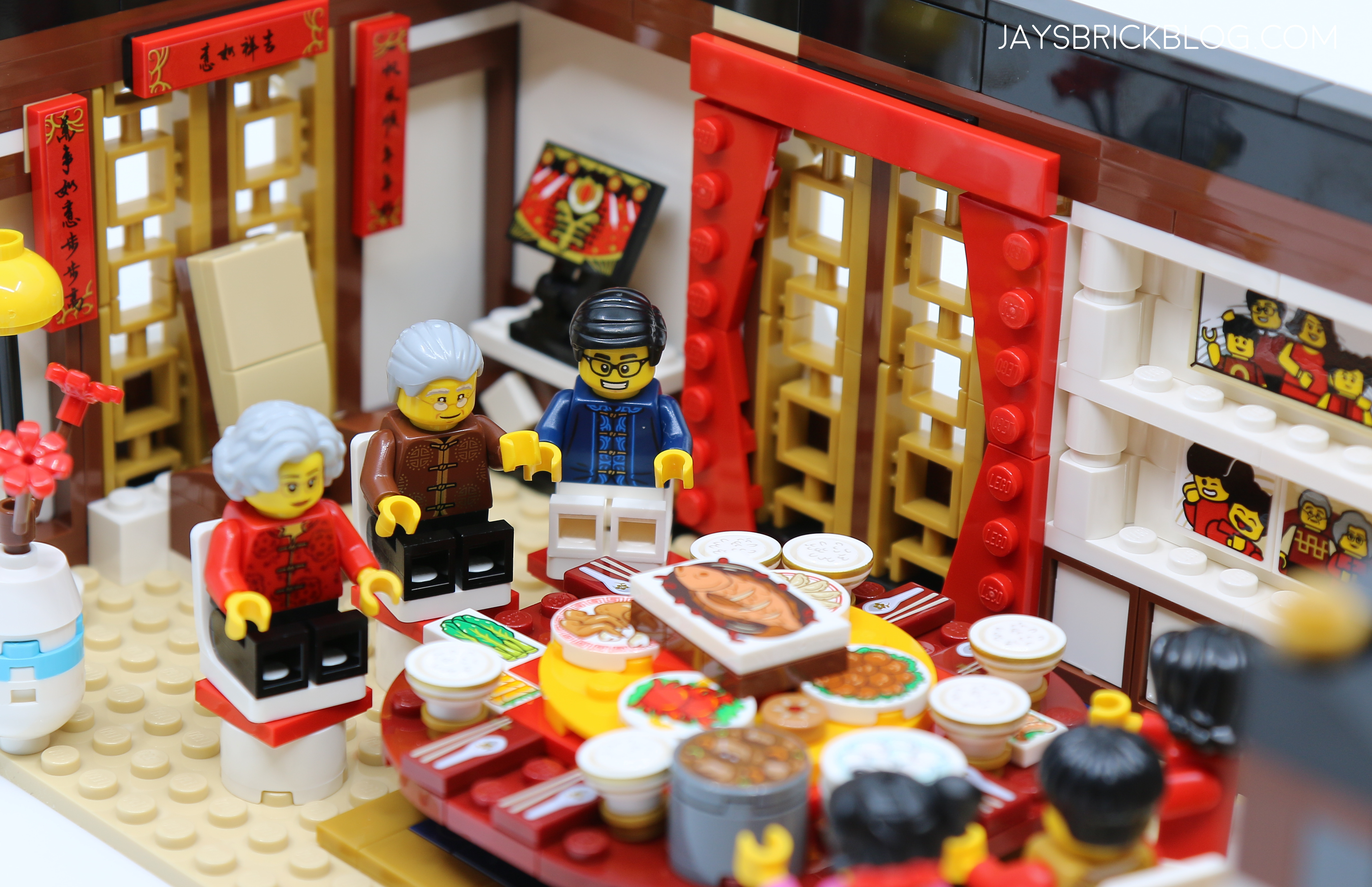 Review Lego 80101 Chinese New Year S