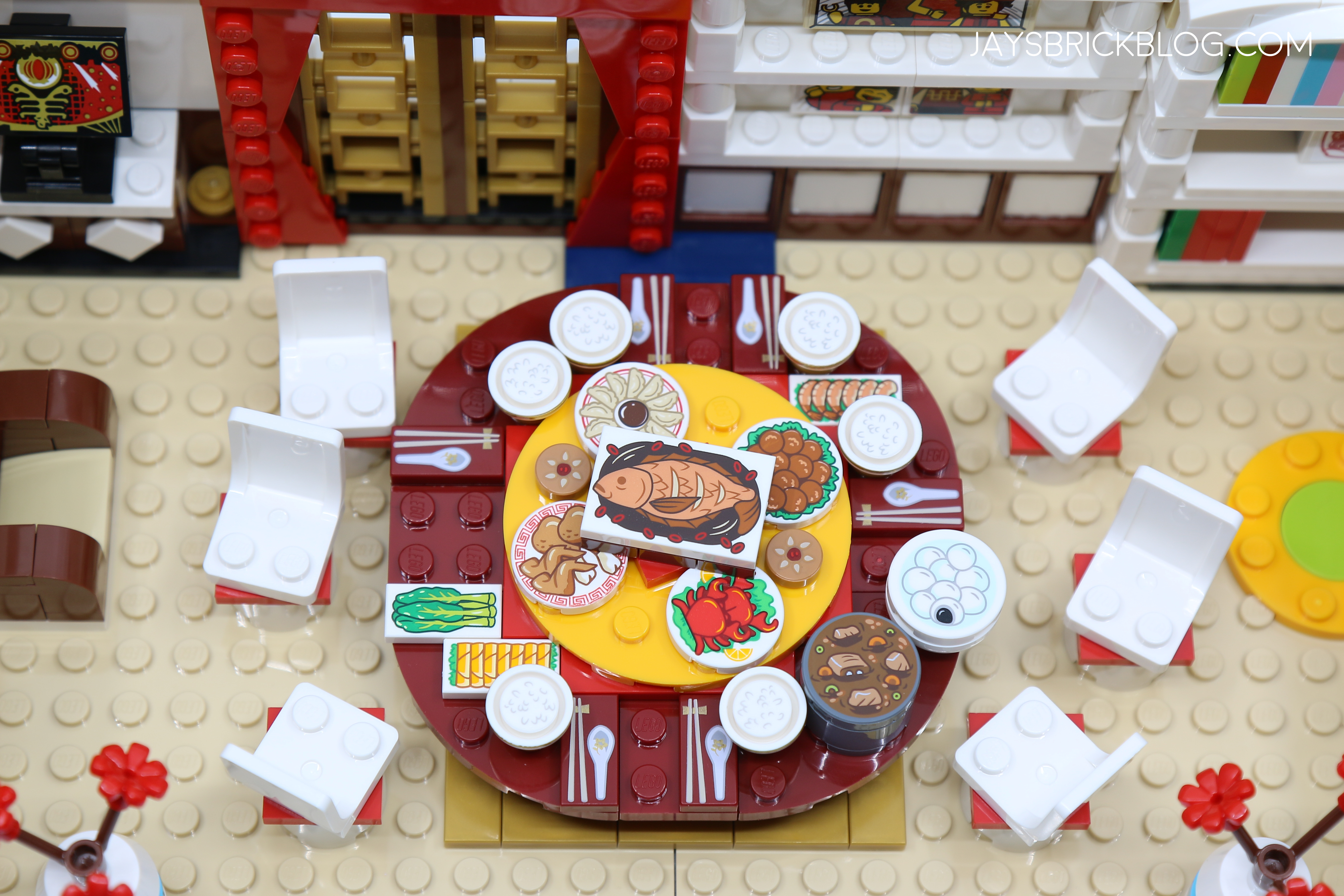 Review: LEGO 80101 Chinese New Year's Eve Dinner – Jay's ...