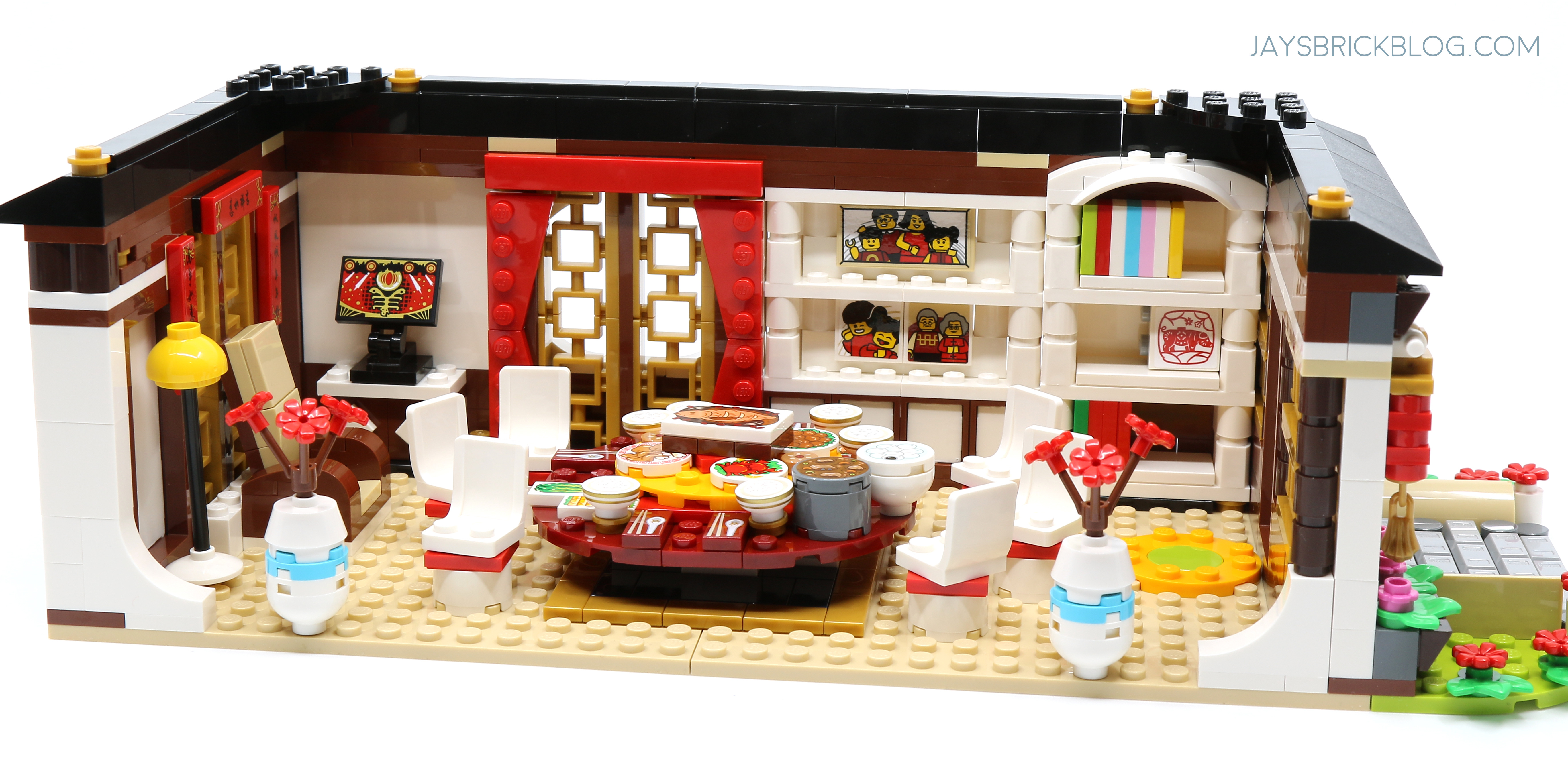 Review: LEGO 80101 Chinese New Year's Eve Dinner – Jay's Brick Blog