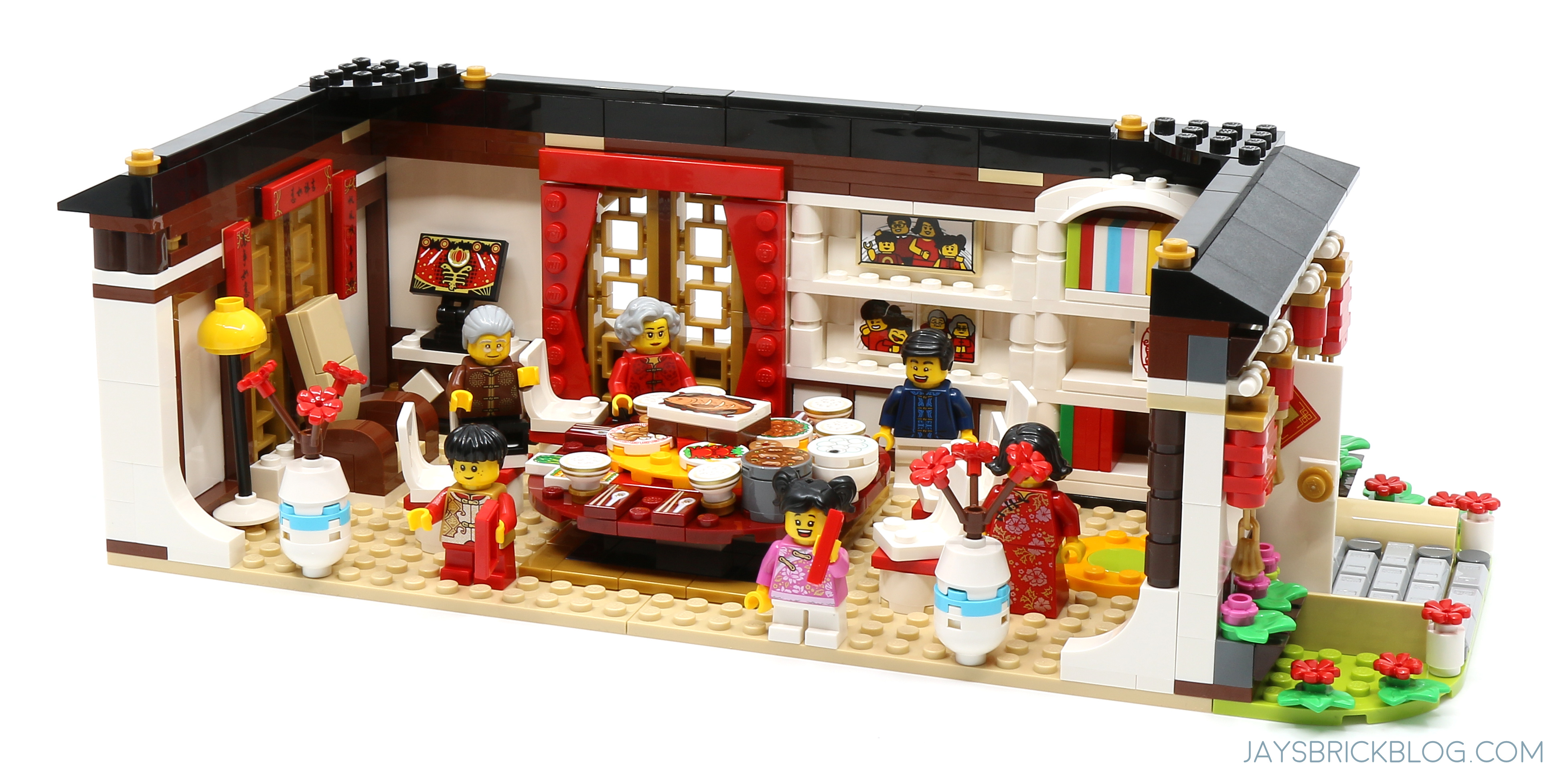 Review Lego 80101 Chinese New Year S Eve Dinner Jay S